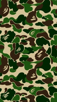 Bape Ape Camo Snap Case for iPhone 6 & iPhone Bape Shark Wallpaper, Bape Wallpaper Iphone, Camo Wallpaper, Huf Wallpapers, Iphone Wallpapers, Bape Ape, Supreme Wallpaper, Hypebeast Wallpaper, Lock Screen Wallpaper