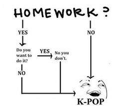 Hhhhhhhhhhh, i have that Kpop addiction bit i have never did not do a homework for watching kpop or kdrama Memes Humor, Bts Memes, Kdrama Memes, Funny Memes, Anime Meme, Me Anime, Anime Fairy, Otaku Anime, K Pop