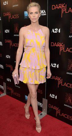 """Charlize Theron na pré-estreia de """"Dark Places"""""""