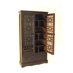 Wayborn Gothic Gates CD Multimedia Cabinet $329