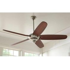 Home Decorator Altura 68 in. Brushed Nickel Ceiling Fan ** For more information, visit image link. (This is an affiliate link) #LightingCeilingFans