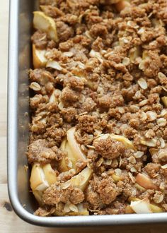 Old Fashioned Apple Crisp Cobbler by Barefeet In The Kitchen (gluten free and traditional recipes)