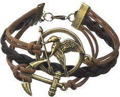 Kosogłos Bransoletka Igrzyska śmierci Strzała Hunger Games, Charmed, Celebrities, Bracelets, Jewelry, Magick, The Hunger Games, Celebs, Jewlery