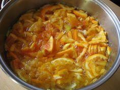 La macerazione delle arance tarocco Rosaria