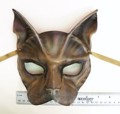 black cat leather mask ready to ship black cats leather mask and