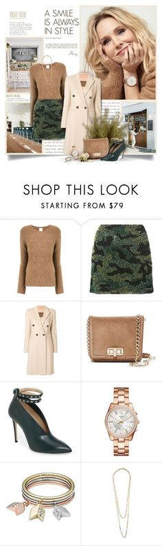 """""""Mini Bag"""" by thewondersoffashion ❤ liked on Polyvore featuring CITYSHOP, Alice + Olivia, Giambattista Valli, Lanvin, Jimmy Choo, FOSSIL and Chanel"""