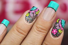 Decoracion de uñas vitral 2 Wow Nails, Pretty Nails, Stiletto Nail Art, Acrylic Nails, Feet Nails, Toe Nail Designs, Flower Nails, Simple Nails, Nail Arts