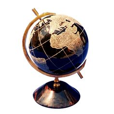 Table #globe made of natural obsidian | natural #stone #globe | #world map | offic,  View more on the LINK: http://www.zeppy.io/product/gb/3/231446406/