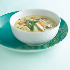 Chicken-Coconut Soup - Clean Eating - Clean Eating