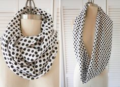 Shrimp Salad Circus: how to make an infinity scarf . sewing 101