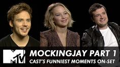 Jennifer Lawrence & Cast on Mockingjay's Funniest Behind The Scenes Mome...