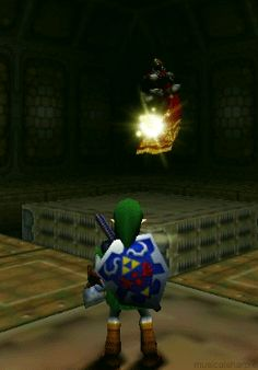 """Watching this is immensely satisfying.   Community Post: 21 Signs You Love """"The Legend Of Zelda: Ocarina Of Time"""""""