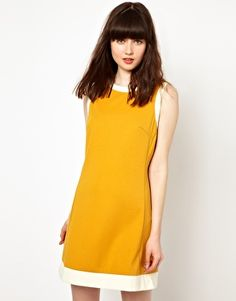 Pop Boutique Shift Dress with Button Back
