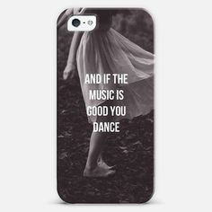 And if the music is good you dance case | @casetify Artist Collection
