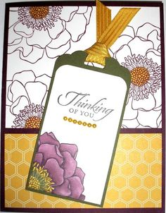 Tagged Blended Bloom by Nan Cee's - Cards and Paper Crafts at Splitcoaststampers