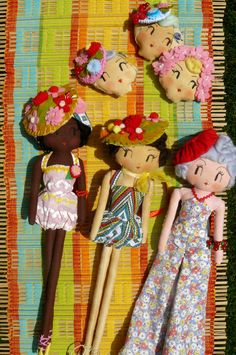 Curious Pip handmade art doll...to die for!