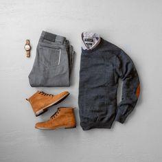 men's casual style & fashion – Men Styles Fashion Wear, Look Fashion, Winter Fashion, Mens Fashion, Fashion Outfits, Fashion Styles, Stylish Mens Outfits, Casual Outfits, Business Casual Men