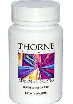 Adrenal Cortex Gland 60 Veggie Caps Capsules Health Fatigue Support Therapy…