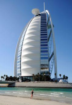 60 landmarks you must see before you die- BURJ AL-ARAB (DUBAI, UNITED ARAB EMIRATES)
