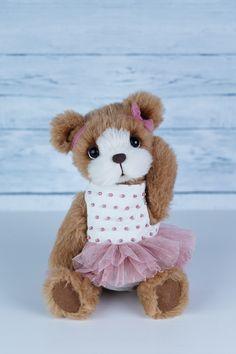 OOAK teddy bear by Marina Kachan