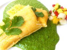 tamale-w-green-sauce vegetarian