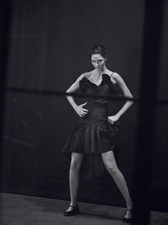 H.C by Peter Lindbergh starring Mariacarla Boscono (Vogue Italia)