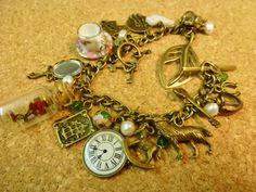 Deluxe+Vintage+style+Beauty+and+the+Beast+charm+by+KyraBothwell,+£25.00