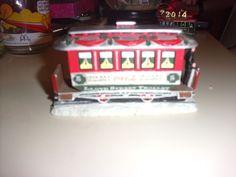 Grandma's Collection- GA RARE 1993 House of Lloyd,Christmas Around the World,Coca Cola Trolley