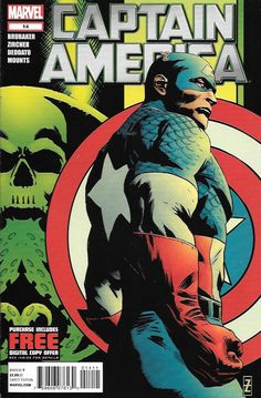 Shock to the System: Part 4__ Written By Ed Brubaker , Art And Cover Art Patrick Zircher ,Cap must grapple with the reality of the New Scourge's true identity!