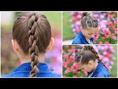 back-to-school long hairstyles for little girls
