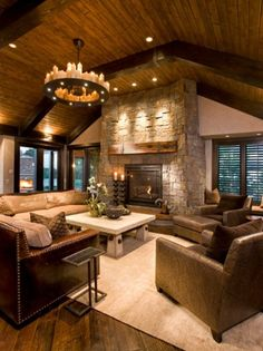 15 Warm Rustic Family Room Designs For The Winter A new collection 15 Warm Rustic Family Room Designs For The Winter which we have made to give you ideas specifically for this season. - 15 Warm Rustic Family Room Designs For The Winter Rustic Living Room Furniture, Furniture Layout, Modern Furniture, Furniture Placement, Furniture Arrangement, Antique Furniture, Furniture Ideas, Outdoor Furniture, Fireplace Furniture