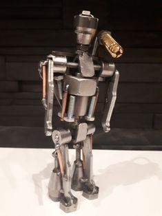 Robot with plasma gun