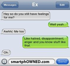HA! I so want to use this on my ex!!!
