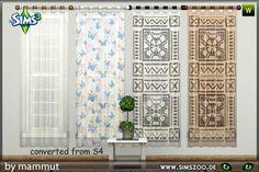 Blackys Sims 2 3 Zoo Sheer Curtainsplaysplay