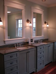 Different levels and depths add interest.  May save money by using stock sized cabinets and solid counter remnants.
