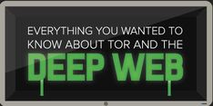 Infographic explains how you can find information about the secretive deep web.