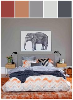 I like the colors and the elephant :)
