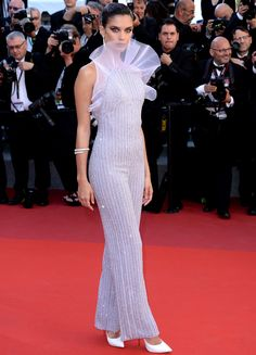 All the Celebrity Looks from the 2017 Cannes Film Festival Red Carpet - Sara Sampaio from InStyle.com