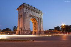 Photograph Arch of Triumph (arch. Petre Antonescu) by Daniel Maracine on 500px