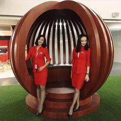 Follow ✈️ @asianflightattendant with @mutxumi at @airAsia _______________________________________________________ #asianflightattendant #flightattendant #cabincrew #客室乗務員 #기내 #空姐 #空乘 #inflight #cabincrew #aircrew #crewfie #cabincrewlifeatyle #airasia