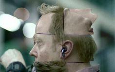 Rubik's cube head :O