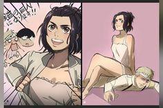 Attack On Titan Comic, Attack On Titan Ships, Attack On Titan Fanart, Funny Songs, Funny Art, Aot Funny, Ichigo Y Rukia, Anime Kitten, Selena Gomez Daily