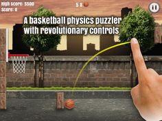 Through the Hoop - Basketball Physics Puzzler by Nipe