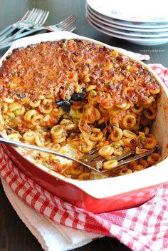 Sicilian baked anelletti pasta - timballo di anelletti, la pasta al forno sicilianaa