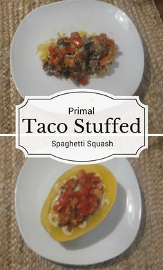 Try a new spin on Taco Tuesday with this primal taco stuffed spaghetti squash