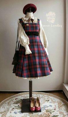 Fahion Kawaii Fashion, Lolita Fashion, Cute Fashion, Estilo Lolita, Old Fashion Dresses, Fashion Outfits, Pretty Outfits, Pretty Dresses, Mode Lolita