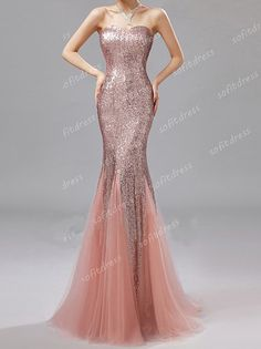 prom dress sequin prom dresses mermaid