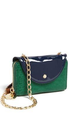 Cute emerald crossbody bag