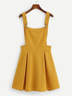 Shop Pleated Zip Up Back Pinafore Dress online. SheIn offers Pleated Zip Up Back. - - Shop Pleated Zip Up Back Pinafore Dress online. SheIn offers Pleated Zip Up Back Pinafore Dress & more to fit your fashionable needs. Source by Belted Shirt Dress, Tee Dress, Cute Casual Outfits, Summer Outfits, Pinafore Dress Pattern, Pinafore Dress Outfit, Vetement Fashion, Mein Style, Overall Dress