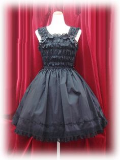 Baby the Stars Shine Bright / Jumper Skirt / Shirring Princess JSK